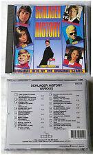 SCHLAGER HISTORY  Udo Jürgens, Conny, Jan & Kjeld, Gitte,.. 1989 NL BR CD TOP
