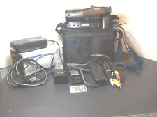 Vintage Sony Handcame video cam. CCD - TR-400 w/case ,adapter,batteries.
