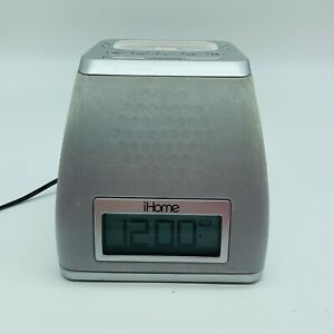 iHome iP21 iPhone/iPod Dock Alarm Clock Speaker (Tested & It Works)