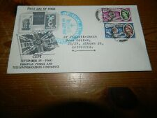 GB QEII 1960 EUROPA FIRST DAY COVER TYPED ADDRESS