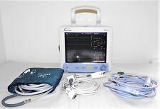 Datascope Trio paziente Monitor + GENUINE LEAD Set Masimo SpO2 ECG PSNI MINDRAY