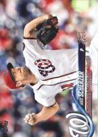 2018 Topps Baseball #629 Max Scherzer Washington Nationals