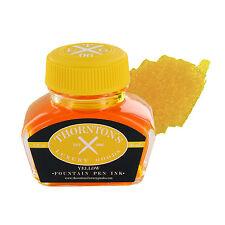 Thornton's Luxury Goods Fountain Pen Ink Bottle, 30ml - Yellow