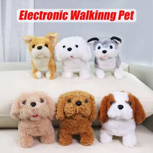 Electronic Puppy Interactive Dog Rabbit Toys Pets Walk Bark Wag Tail Ki