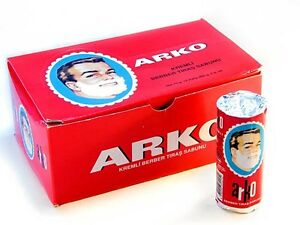 ARKO Shaving Soap Stick for Shaving Brush and Safety Razor 75gr (2.64 oz)