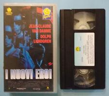 VHS FILM Ita Fantascienza I NUOVI EROI van damme dolph lundgren no dvd lp(V150)°