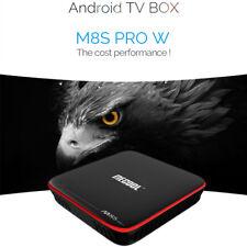 Mecool M8S PRO W 2.4G WiFi Andriod 4K TV Box 2GB+16GB 30fps WiFi H.265 EU Plug