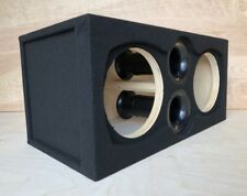 """Ported Subwoofer Box Sub Enclosure for 2 12"""" Orion HCCA Subs ~ BIRCH PLYWOOD ~"""