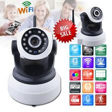 Wireless HD 720P 1MP Überwachungskamera WLAN Funk IP Kamera Nachtsicht IR