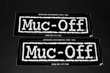 +083 Muc-Off Reiniger Putzmittel Motorrad Aufkleber Decal Sticker Autocollant