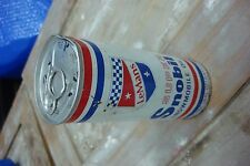 Vintage Lemans Super Concentrate 2-Cycle snowmobile  Oil Can Full, 16 oz.