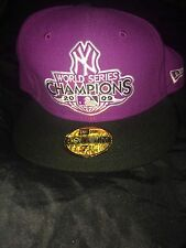 "NEW Era 59 FIFTY LIMITED EDITION ""NY World Series CHAMPIONS 2009"" Taglia: 7 5/8"