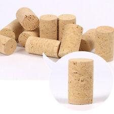 5pcs Rustic Wood Cork Bottle Stoppers Wine Corks Barware DIY Making Bung Crafts