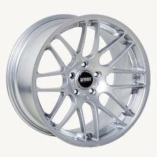 19x9.5 VMR Rims VB3 5x120 ET45 Super Silver Wheels (Set of 4)
