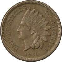 1860 1c Indian Head Copper-Nickel Cent Penny Coin XF EF Extremely Fine