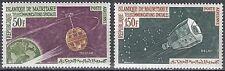 Mauretanien / Mauritanie Nr. 217-218** Fernmeldesatelliten