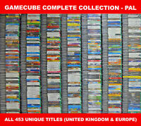 PAL Nintendo GameCube Complete Collection (UKV) – All 453 Unique Games