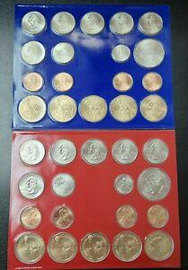 2009 P D US Mint Uncirculated 36 Coin Set UNC TBL910