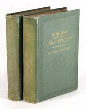 Première Édition 1891 Sibérie et le Exile Système George Kennan Russe History