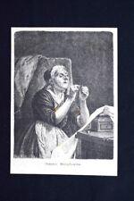 Nonna Margherita Incisione del 1875