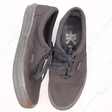 Zoo York Middletown All Black Skate Shoes Sneakers Size 8.5 EU 41.5 Mens
