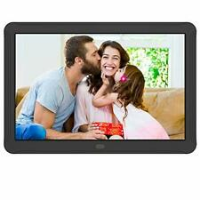 "8"" HD Digital Photo Frame, 1920x1080 High Resolution 16:9 Full IPS, Auto Rotate"
