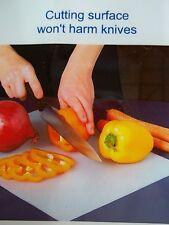"""NIP 4 Flexible Plastic Dishwasher Safe Chopping Cutting Sheets Mats 11"""" x14"""""""