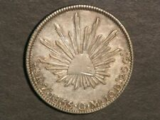 MEXICO 1855ZsOM 4 Reales Silver XF - Nicely Toned