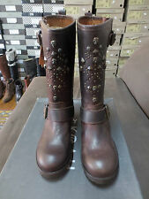 KOAH Mid Boot Bragor Leather Brown New Value 199E Sizes 35,36