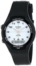 Casio AW90H-7B Mens Classic Digital Analog 50m Casual Watch Dual Time Alarm