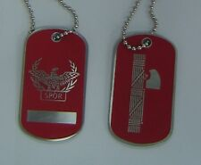 Roman Rome Italy Army War Legion Battle Eagle Fasces Dog Tag Caesar Pax Necklace