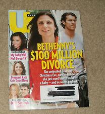 US Weekly Magazine January 21, 2013 Bethenny's $100Million Divorce Pregnant Kate