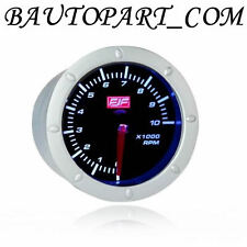 "Tacho Gauges Meters 2""52mm 0-10(x1000) RPM White Led Displayed Universal New"