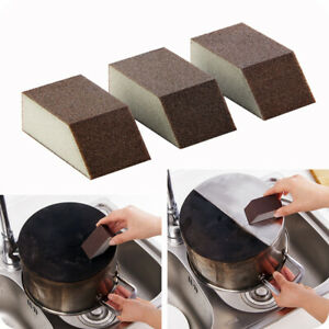 5PCS Strong Magic Sponge Cleaning Brush Dish Washing Kitchen Pot Pan Cleaner