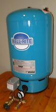 FLEXCON WELLRITE 33 GALLON PRESSURE TANK WR120 (WX-203) + TANK TEE INSTALL KIT