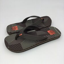 Reef - Womens Brown Flip Flop Sandals - Arch Support & Leather Strap - Sz 6 / 7