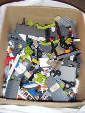 Job Lot Assorted LEGO Models, Minifigs,Wheels, Bricks etc. - 3.4kg