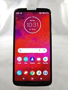 Motorola Moto Z3 XT1929-17 64GB Verizon GSM Unlocked Smartphone Black Y053