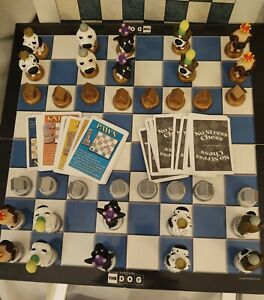 Sababa Toys The Dog Chess Set The Dog Artlist Collection Deluxe Collector's