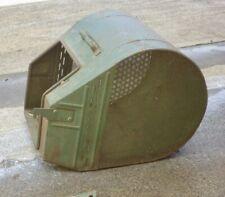 Vintage Victa Corvette Consul Metal Tin Grass Catcher Petrol Lawn Mower Engine