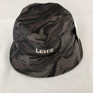 Levis Camo Bucket Hat Medium M