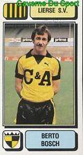 180 BERTO BOSCH BELGIQUE LIERSE.SV STICKER FOOTBALL 1983 PANINI