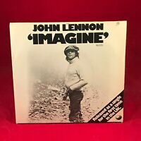 """JOHN LENNON Imagine 1975  UK 7"""" vinyl single EXCELLENT CONDITION original Pictur"""