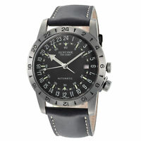 """Glycine Men's GL0252 Airman Vintage """"The Chief"""" Purist Automatic 40mm Grey PVD"""