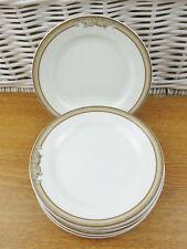 x6 Wedgwood Gold Cornucopia Parchment Tea Side Plates Hotelware Restaurant Ware