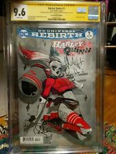 DC Universe Rebirth Harley Quinn 1 CGC Signature Series Signed By: Babs Tart...