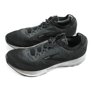 Brooks Levitate 2 Mens Grey Lace Up Running Gym Trainers Sneakers - UK 11