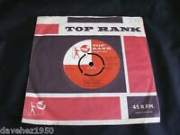VINCE EAGER. Why bw El Paso. 1960 Top Rank 45-JAR-275. Plays EX/EX