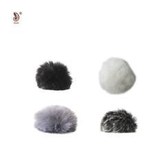 Fur Mic Windscreen Windshield Wind Muff for Lapel Microphone small medium large