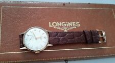 Vintage 9ct gold longines watch
